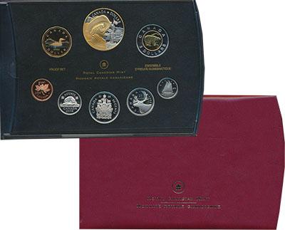 Изображение Подарочные монеты Северная Америка Канада Набор 2008 года 2008  Proof