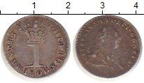 Изображение Монеты Европа Великобритания 1 пенни 1800 Серебро XF