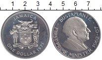 Изображение Монеты Северная Америка Ямайка 1 доллар 1971 Медно-никель Proof-