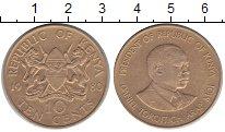Изображение Монеты Африка Кения 10 центов 1980 Медь XF