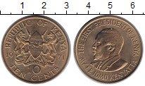 Изображение Монеты Кения 10 центов 1971 Медь XF Первый Президент Кен