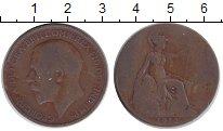 Изображение Монеты Великобритания 1 пенни 1912 Медь VF