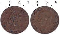 Изображение Монеты Европа Великобритания 1 пенни 1929 Медь XF