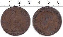 Изображение Монеты Великобритания 1 пенни 1928 Медь VF Георг V.