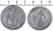 Изображение Монеты Конго 10 франков 1963 Алюминий XF