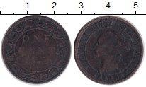 Изображение Монеты Северная Америка Канада 1 цент 0 Медь VF
