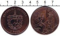 Изображение Монеты Куба 1 песо 1994 Медь XF 100 лет Манифесту Мо