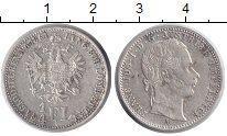 Изображение Монеты Австрия 1/4 флорина 1864 Серебро XF