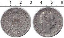 Изображение Монеты Австрия 1 флорин 1879 Серебро XF Франц Иосиф I