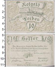 Изображение Банкноты Германия : Нотгельды 10 хеллеров 1920  XF Выпуск 2 мая 1920 г.