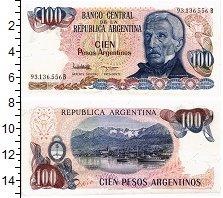 Изображение Банкноты Аргентина 100 песо 0  UNC