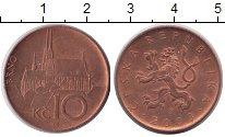 Изображение Монеты Европа Чехия 10 крон 2003  XF