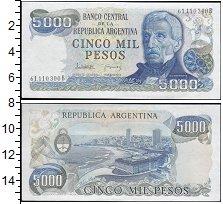 Изображение Банкноты Южная Америка Аргентина 5000 песо 0  UNC-