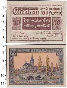 Изображение Банкноты Германия : Нотгельды 50 пфеннигов 1921  XF