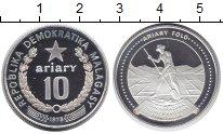 Изображение Монеты Африка Мадагаскар 10 ариари 1978 Медно-никель Proof