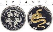Изображение Подарочные монеты Того 1000 франков 2013 Серебро Proof
