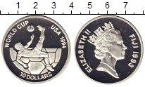 Изображение Монеты Австралия и Океания Фиджи 10 долларов 1993 Серебро Proof
