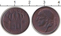 Изображение Монеты Европа Бельгия 50 сантим 1987 Медь XF