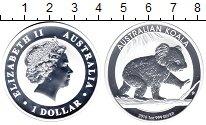 Изображение Мелочь Австралия 1 доллар 2016 Серебро Proof