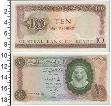 Изображение Банкноты Африка Египет 10 фунтов 0  UNC