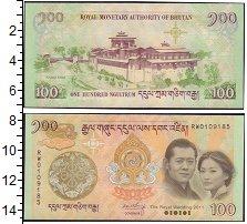 Изображение Банкноты Бутан 100 нгултрум 2011  UNC