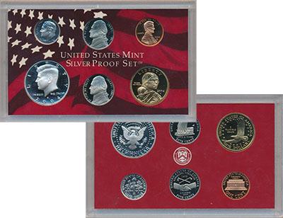 Изображение Подарочные монеты Северная Америка США Набор 2004 года 2004  Proof