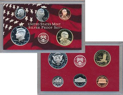 Изображение Подарочные монеты Северная Америка США Набор 2007 года 2007  Proof