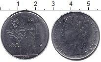 Изображение Дешевые монеты Европа Италия 100 лир 1977 Железо XF