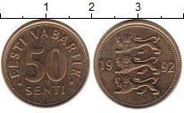 Изображение Дешевые монеты Не определено 50 сенти 1992 Медь XF