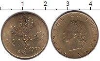 Изображение Дешевые монеты Не определено 20 лир 1991 Медь UNC