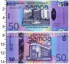 Изображение Банкноты Самоа 50 тала 0  UNC