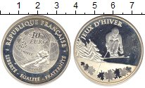 Изображение Монеты Европа Франция 10 евро 2009 Серебро Proof-