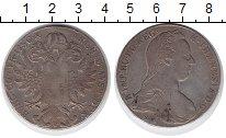 Изображение Монеты Европа Австрия 1 талер 1780 Серебро VF