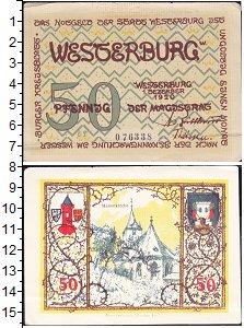 Изображение Банкноты Германия : Нотгельды 50 пфеннигов 1920  XF Выпуск 20 декабря 19