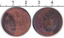 Изображение Монеты Австрия 1 крейцер 1851 Медь VF A