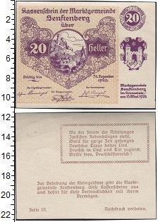 Изображение Банкноты Германия : Нотгельды 20 геллеров 1920  VF