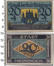 Изображение Банкноты Германия : Нотгельды 20 пфеннигов 1921  XF