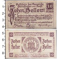 Изображение Банкноты Германия : Нотгельды 10 геллеров 1922  XF