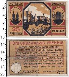 Изображение Банкноты Германия : Нотгельды 25 пфеннигов 1920  VF