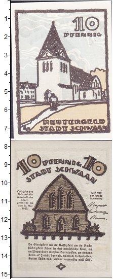 Изображение Банкноты Германия : Нотгельды 10 пфеннигов 1922  XF