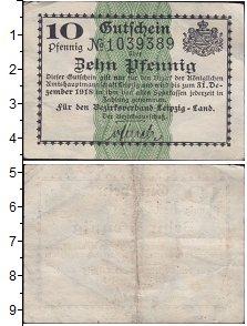 Изображение Банкноты Германия : Нотгельды 10 пфеннигов 1918  VF