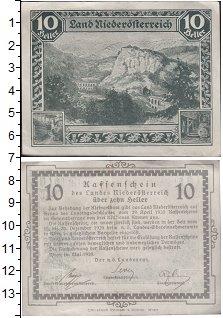 Изображение Банкноты Германия : Нотгельды 10 геллеров 1920  XF Выпуск 29 апреля 192