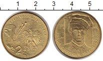 Изображение Монеты Польша 2 злотых 2010 Латунь XF Артур Гротгер.