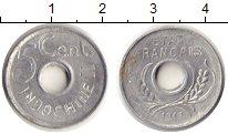 Изображение Монеты Индокитай 5 центов 1943 Алюминий XF Французский протекто