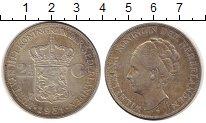 Изображение Монеты Нидерланды 2 1/2 гульдена 1931 Серебро XF
