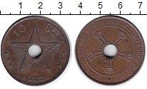Изображение Монеты Бельгийское Конго 10 сантим 1888 Медь XF