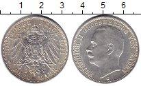 Изображение Монеты Германия Баден 3 марки 1911 Серебро XF
