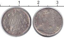 Изображение Монеты Канада 5 центов 1908 Серебро VF