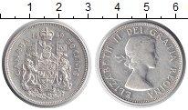 Изображение Монеты Северная Америка Канада 50 центов 1960 Серебро VF