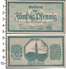Изображение Банкноты Германия : Нотгельды 50 пфеннигов 1918  XF Выпуск 1 января 1918